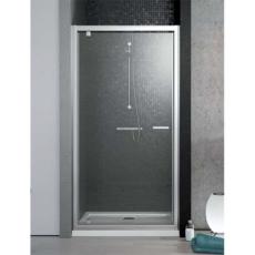 Душевая дверь Radaway Twist DW (1000х1900 мм) профиль хром глянцевый/стекло коричневое 382003-08