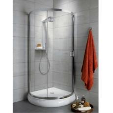 Душевой угол Radaway Premium Plus B 1900 (900х900 мм) профиль хром глянцевый/стекло коричневое 30473-01-08N