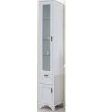Шкаф-колонна Акватон Идель левый (364х1916мм) дуб белый 1A198003IDM7L