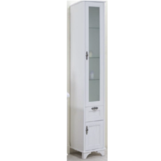 Шкаф-колонна Акватон Идель правый (364х1916мм) дуб белый 1A198003IDM7R