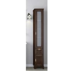 Шкаф-колонна Акватон Идель правый (364х1916мм) дуб шоколадный 1A198003IDM8R