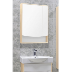 Зеркальный шкаф Акватон Инфинити 65 (650х850мм) ясень Коимбра 1A197002IFSC0
