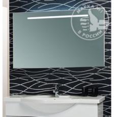 Зеркало Акватон Сайгон 110 (1100х654мм) белый 1A107902SA010