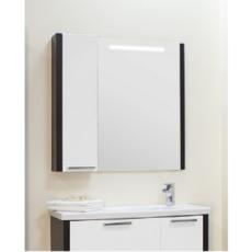 Зеркальный шкаф Акватон Брайтон 100 (958х900 мм) венге 1A176702BR500