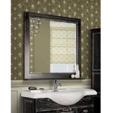 Зеркало Акватон Жерона 105 (1035х920 мм) черное серебро 1A158802GEM50