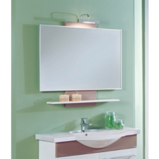 Зеркало Акватон Логика-М 95 разборное (950х877мм) лен шенон 1A108002LOD60