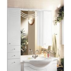 Зеркальный шкаф Акватон Домус правый (880х1084мм) белый 1A001002DO01R