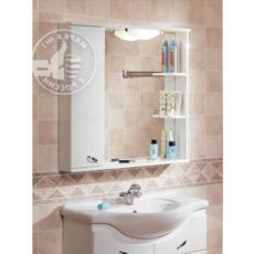 Зеркало Акватон Аттика левое (853х862мм) белое 1A003802AT01L