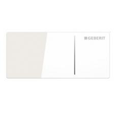 Дистанционная клавиша смыва Geberit Sigma 70 115.635.SI.1 (стекло, белое)