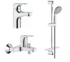 Комплект для ванной комнаты 3 в 1 Grohe BauFlow 121624