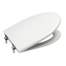 Сиденье с крышкой с механизмом плавное закрывание для унитаза Roca America (белое) 7801492004