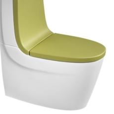 Сиденье с крышкой для унитаза Roca Khroma 801652F0T зеленый