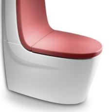 Сиденье с крышкой для унитаза Roca Khroma 801652F3T красный