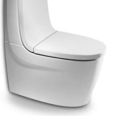 Сиденье с крышкой для унитаза Roca Khroma 801652F6T белый органик