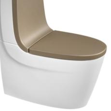 Сиденье с крышкой для унитаза Roca Khroma 801652F9T каштан