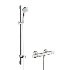 Душевой набор Hansgrohe Croma 100 Vario с термостатом Ecostat Comfort 27035000