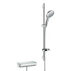 Душевой набор с термостатом Hansgrohe Ecostat Select (хром) 27037000