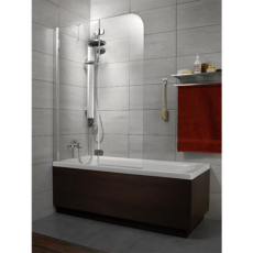 Душевая шторка на ванну Radaway Torrenta PND левая (1210х1500 мм) профиль хром глянцевый/стекло графит 201203-105NL