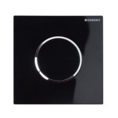 Пневмопривод смыва для писсуара Geberit Sigma10 116.015.KM.1 (черный)
