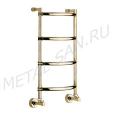 Полотенцесушитель водяной Margaroli Luna 432 (435х720 мм) бронза 4323704OBN
