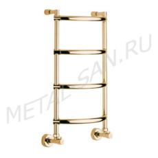 Полотенцесушитель водяной Margaroli Luna 432 (435х720 мм) золото 4323704GON