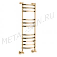 Полотенцесушитель водяной Margaroli Luna 434 (435х1076 мм) золото 4343711GON