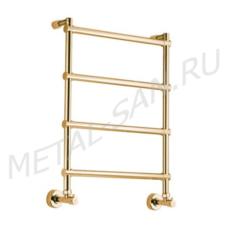 Полотенцесушитель водяной Margaroli Sole 442 (430х720 мм) золото 4423704GON