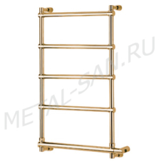 Полотенцесушитель электрический Margaroli Sole 542/5 (570х840 мм) золото 5424705GONB