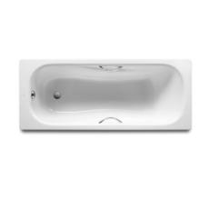Ванна стальная прямоугольная с отверстиями для ручек Roca Princess-N 170х75 72202E0000 (противоскользящее покрытие)