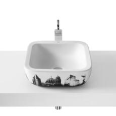 Раковина накладная Roca Urban Берлин (400х400 мм) 732765G00U
