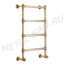 Полотенцесушитель водяной Margaroli Armonia 9-442 (665х980 мм) золото 94425504GON