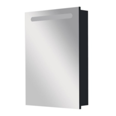Зеркальный шкаф правый Roca Victoria Nord Black Edition 60 черный (606х810 мм) ZRU9000099