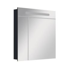 Зеркальный шкаф Roca Victoria Nord Black Edition 80 черный (800х810 мм) ZRU9000100