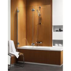 Душевая шторка на ванну Radaway Carena PND левая (1300х1500 мм) профиль хром глянцевый/стекло коричневое 202201-108L