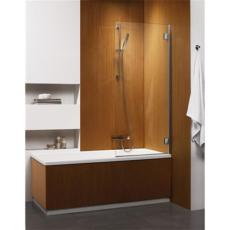Душевая шторка на ванну Radaway Carena PNJ правая (700х1500 мм) профиль хром глянцевый/стекло коричневое 202101-108R