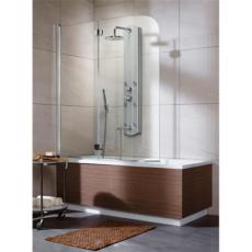 Душевая шторка на ванну Radaway EOS PND левая (1300х1520 мм) профиль хром глянцевый/стекло прозрачное 205202-101L