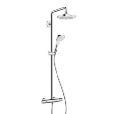 Душевая система Hansgrohe Croma Select E 180 2jet Showerpipe 27256400