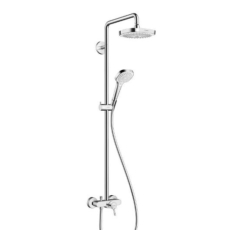 Душевая система Hansgrohe Croma Select E 180 2jet Showerpipe 27258400