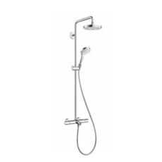 Душевая система Hansgrohe Croma Select S 180 2jet Showerpipe (белый/хром) 27351400