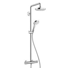 Душевая система Hansgrohe Croma Select S 180 2jet Showerpipe 27253400