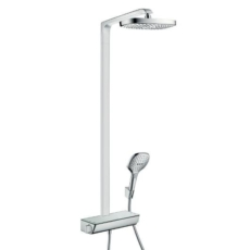 Душевая система Hansgrohe Raindance Select E 300 2jet Showerpipe 27128000