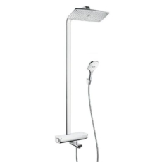 Душевая система для ванны Hansgrohe Raindance Select E360 Showerpipe (белый/хром) 27113400