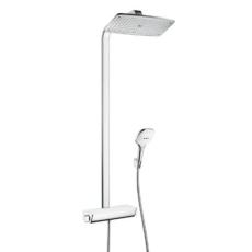 Душевая система Hansgrohe Raindance Select E 360 Showerpipe (белый/хром) 27112400