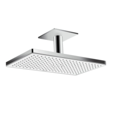 Верхний душ Hansgrohe Rainmaker Select 460 1jet (белое стекло) 24002400