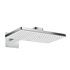 Верхний душ Hansgrohe Rainmaker Select 460 1jet (белое стекло) 24003400