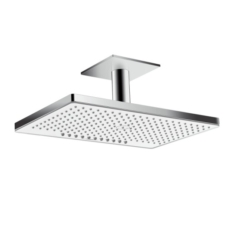 Верхний душ Hansgrohe Rainmaker Select 460 2jet (белое стекло) 24004400