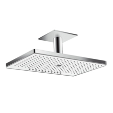 Верхний душ Hansgrohe Rainmaker Select 460 3jet (белое стекло) 24006400