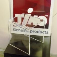 Стульчик для душа Timo Premium прозрачный