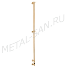 Полотенцесушитель электрический Margaroli Arcobaleno 616/L (1650 мм) золото 616GOB-1650