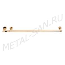 Полотенцесушитель электрический Margaroli Arcobaleno 616/S (900 мм) золото 616GOB-900